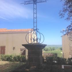 Croix – Place de l'Église – Tonnac