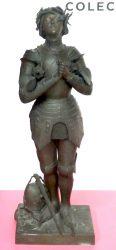 Statue de Jeanne d'Arc – Museo O'Higginiano y de Bellas Artes – Talca