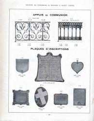BAY_F5_PL442 – Appuis de communion, plaques d'inscriptions