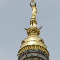 Vierge à l'enfant – basilique – Albert (copie)