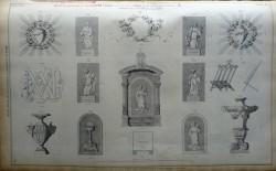 DUC_VO_PL114_F474 – Tabernacle, vases, porte missel et bas-reliefs