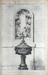 DUC_VO_PL411_F450 – Baptistère – Bas-relief
