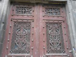 Panneaux de porte – rue Chanzy – Vouziers