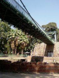 Pont suspendu du zoo de Giza – Gizeh (Le Caire)
