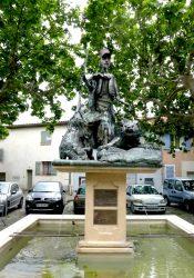 Monument fontaine à Jules Gérard – Pignans