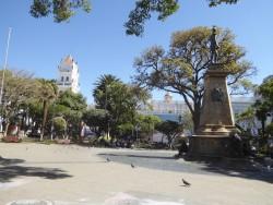 Monumentos de la plaza 25 de Mayo – Sucre
