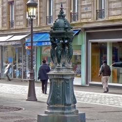 Fontaine Wallace – Rue de Meaux – Paris (75019)