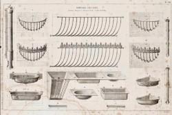 DUR_1868_PL301 – Articles d'écuries (rateliers, mangeoires, poteau de stalle, conduit de billot)