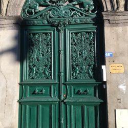 Porte –  panneaux de porte et imposte – Clermont-Ferrand