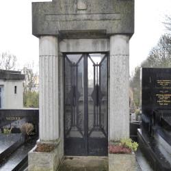 Portes de chapelles sépulcrales – Division 97 – Cimetière du Père Lachaise – Paris (75020)