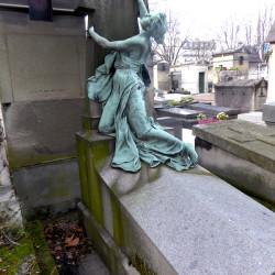 Tombe J.M. Vallet – Cimetière du Père Lachaise – Paris (75020)