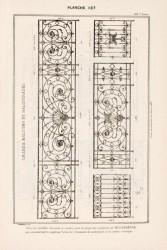 DUR_1889_PL137 – Grands balcons et balustrades