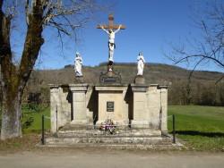 Calvaire  – Monument aux morts – Place de l'Église – Ginals