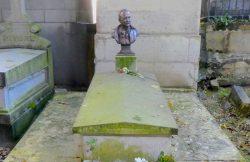 Buste d'Antoine Ritti – Cimetière du Père Lachaise – Paris (75020)