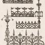 DUR_1889_PL225 - Frises de couronnement, épis et faitière - Image1