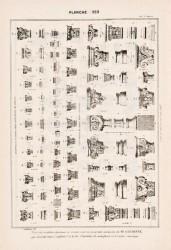 DUR_1889_PL282 – Chapiteaux et bases pour battements de grilles
