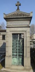 Portes de chapelles sépulcrales – Division 94 – Cimetière du Père Lachaise – Paris (75020)