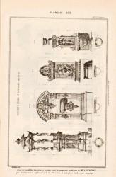 DUR_1889_PL385 – Fontaines à boire et fontaines de cours