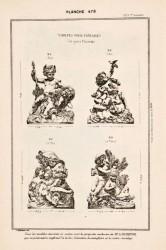 DUR_1889_PL478 – Groupes pour fontaines (les quatre éléments)