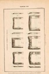 DUR_1889_PL541 – Chambranles d'intérieurs de cheminées