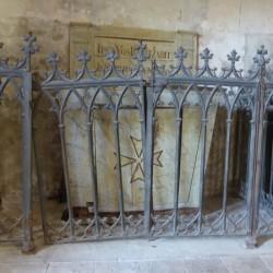 grille de fonts baptismaux Chançay