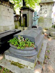 Buste de la sépulture Rafaelli – Cimetière du Père Lachaise – Paris (75020)