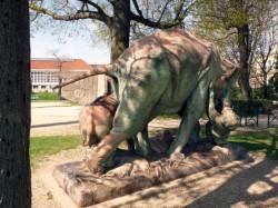 Eléphants attaqués par un tigre – Choisy-le-Roi
