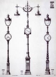 DUR_ECL_PL33 – Candélabres horloges