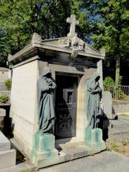 Sépulture des familles Philippe et Ernest Foucher de St Faron et Bertin de Veaux – Cimetière du Père Lachaise – Paris (75020)