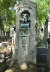 Buste de Félix Berthélemy – Cimetière du Père Lachaise – Paris (75020)