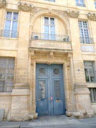 Panneaux de portes – Rue Garancière – Paris (75006)