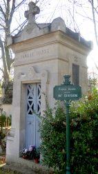 Portes de chapelles sépulcrales (2) – Division 36 – Cimetière du Père Lachaise – Paris (75020)