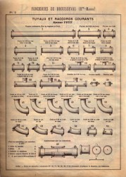 BROU_1923_PL002 – Tuyaux et raccords courants – Système Petit