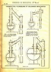 BROU_1923_PL035 – Trompettes, plongeurs et colonnes montantes