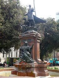 Monument à Vicuña Mackenna – Santiago de Chile