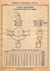 BROU_1923_PL089 – Tuyaux isolateurs pour recherches de fuites dans les conduites