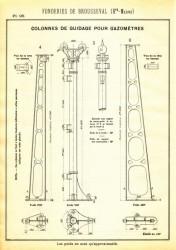 BROU_1923_PL095 – Colonnes de guidage pour gazomètres