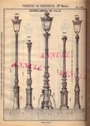 BROU_1923_PL109 – Candélabres de ville