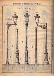 BROU_1923_PL110 – Candélabres de ville