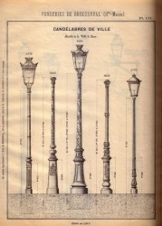 BROU_1923_PL111 – Candélabres de ville