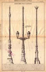 BROU_1923_PL120 – Candélabres pour électricité