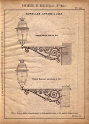 BROU_1923_PL134 – Consoles appareillées