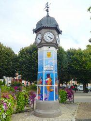 Horloge-kiosque – Jarnac