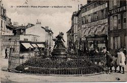 Fontaine « L'Enfant et l'Oie » (fondue) – Limoges