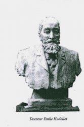 Monument au Docteur Hudellet (disparu) – Bourg-en-Bresse