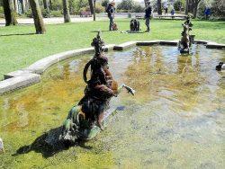 Fonte dos Cavalinhos – Fontaine des Amazones – Jardins do Palacio de Cristal – Porto