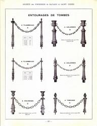 BAY_F5_PL435 – Entourages de tombes, à flambeaux, colonnes ou torches
