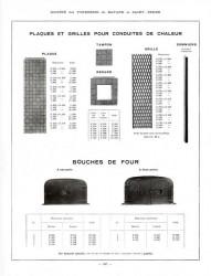 BAY_F4_PL307 – Plaques et grilles pour conduites de chaleur, bouches de four