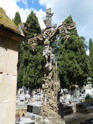 Croix à motifs végétaux – Cimetière de la ville – Cahors