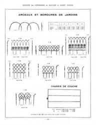 BAY_F4_PL322 – Arceaux et bordures de jardins, chassis de couche
